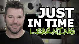 Just-In-Time Learning: How To Move Forward Faster