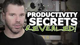 How To Be More Productive – Top 3 Secrets REVEALED!