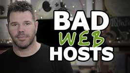 Bad Web Hosting (A Warning!)