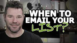 How Often Should You Email Your List? (Not When You Think!)