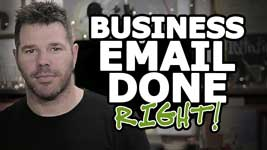 How To Set Up Your Business Email And Website (The RIGHT Way!)