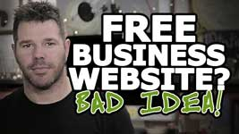 Free Web Hosting For Small Business – HUGE Mistake…Here's Why