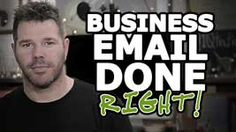 How To Create A Business Email – Write Effective Marketing!