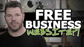 Building A Business Website For Free – Is It REALLY Free?!