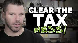Organize Your Small Business Taxes (Clear The Mess!)