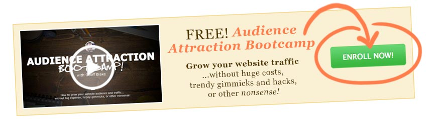 Grow your audience and website traffic!