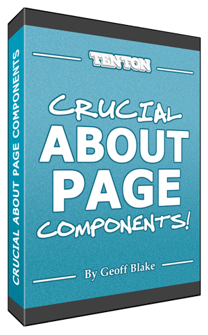 Crucial About Page Components