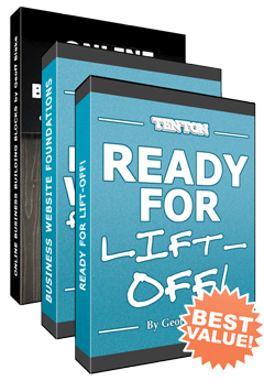 Ready For Lift-Off: How To Build And Run Your Business Website Yourself!