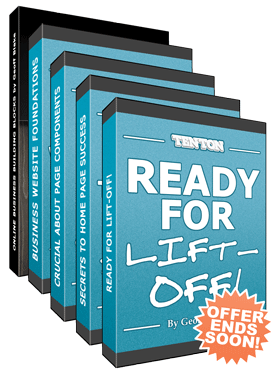 Ready For Lift-Off! + Business Website Foundations + Build A Website (Not A Blog) With WordPress + Online Business Building Blocks ebook