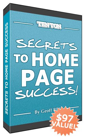 Secrets To Home Page Success