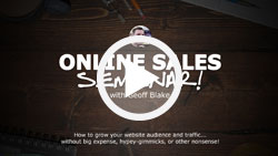 Full-Speed Online Sales Seminar
