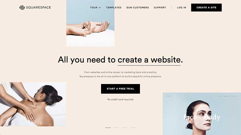 Squarespace and other hosted website builders tie your web hosting and your web design software together