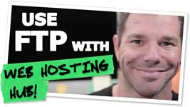 Connecting To Your Web Hosting Hub Hosted Website Using FTP