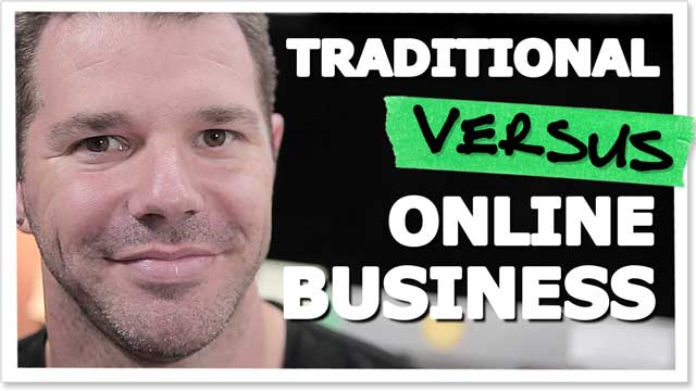 Traditional Commerce vs E-Commerce