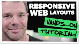 Responsive Design – HTML And CSS Tutorial Step-By-Step!