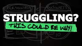 Why Entrepreneurs Struggle