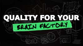 Importing Quality Materials Into Your Brain Factory