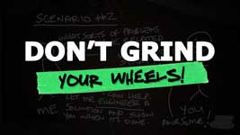 Huge Obstacle For New Business Owners – Don't Grind Your Wheels!