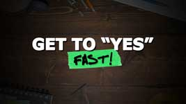 """#1 Reason Why Your Customers Aren't Buying – How To Get To """"Yes!"""" FAST!"""