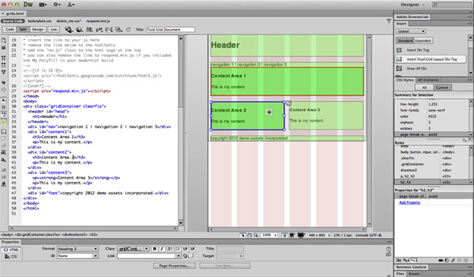 Dreamweaver gives us a visual interface while all the code happens in the background