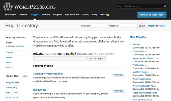 One of WordPress's most powerful features, plug-ins, allow us to extend our site's capabilities