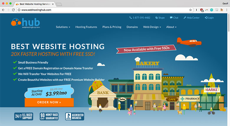 Web Hosting Hub is a great option for small and medium-sized businesses.